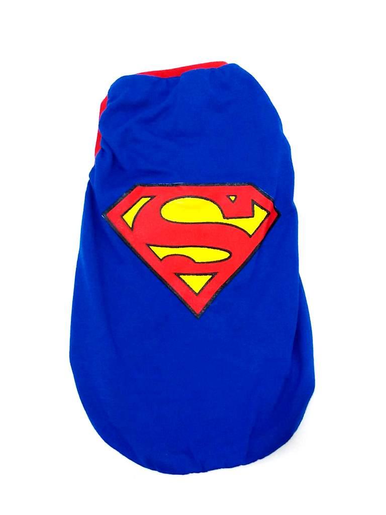 Camiseta Super Heróis  Superman  cor azul  Tamanho EG