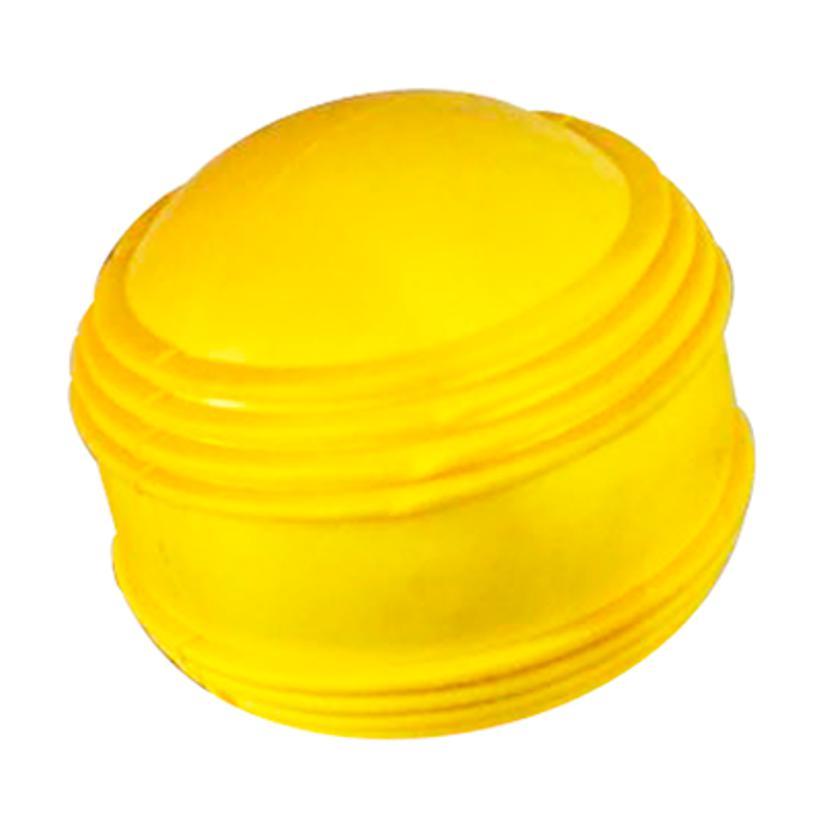 Brinquedo Bola Maciça Plutão Amarelo 80Mm