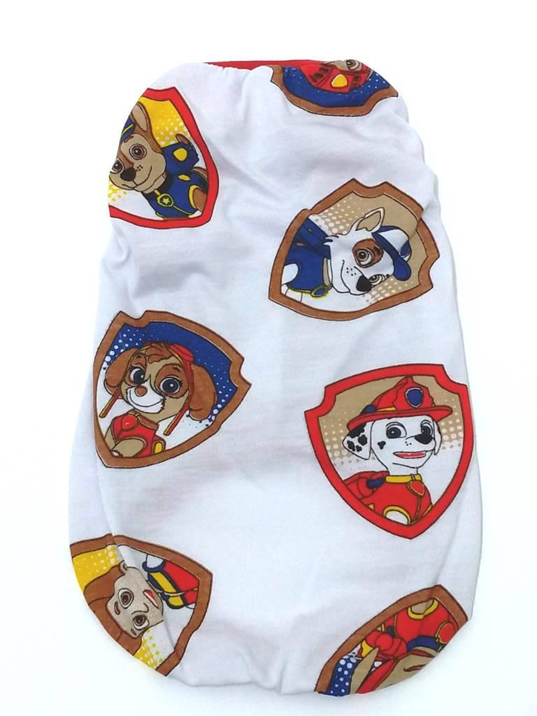 Camiseta Estampa Patrulha Canina  Branca  Tamanho P