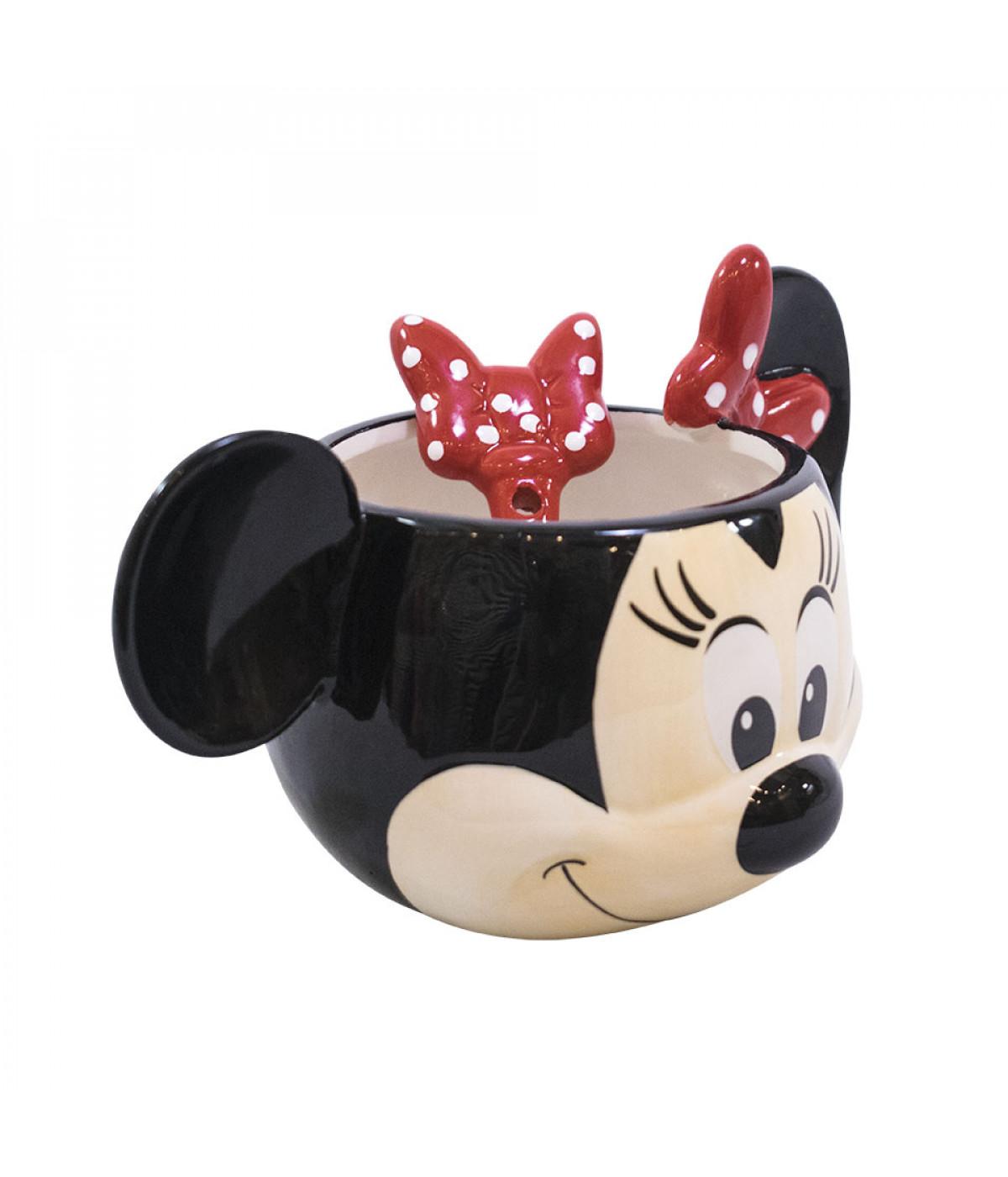 Kit Banheiro Porcelana Mickey : Kit de canecas porcelana rosto mickey e minnie oficial r