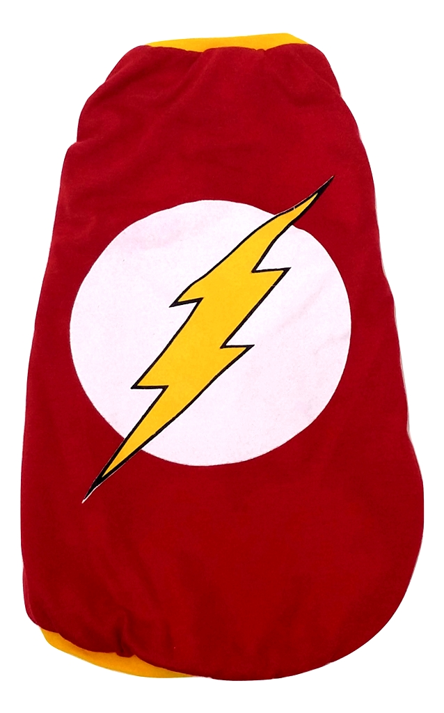Camiseta Super Heróis   Flash   Cor Vermelha Tamanho Gg