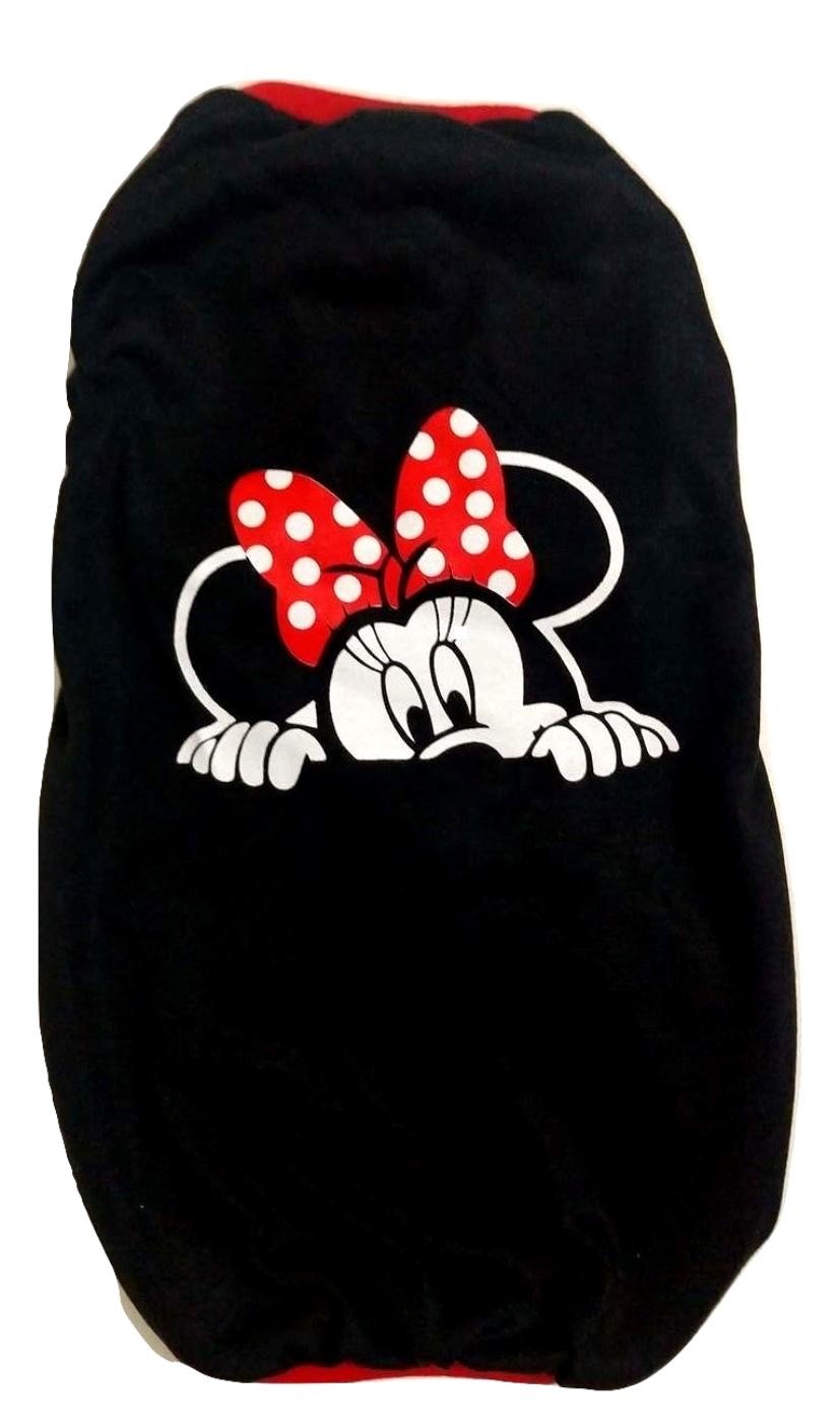 Camiseta Para Cachorro Minnie Preta - Tamanho Gg