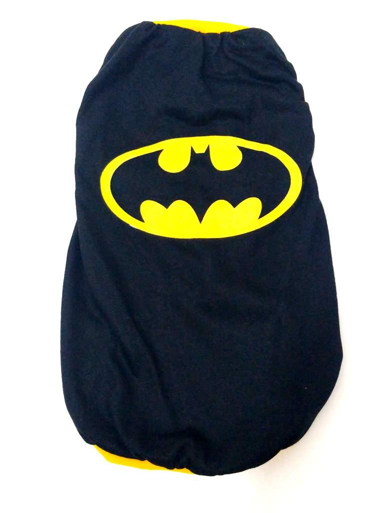 Camiseta Super Heróis Batman Preto Tamanho Gg